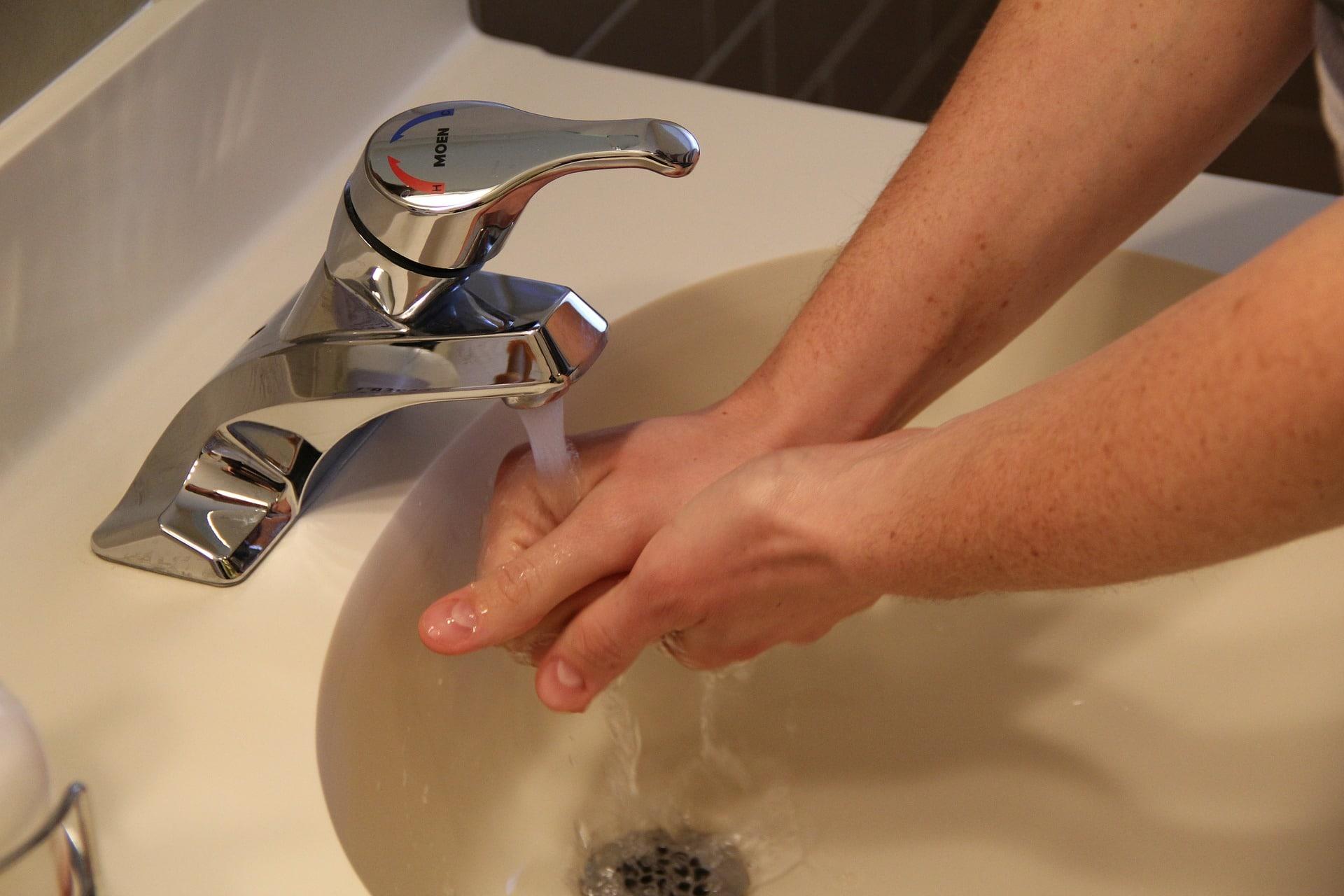 Taxa de higiene de mãos